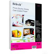photo quality glossy coated paper 100sheets/ A4/115g