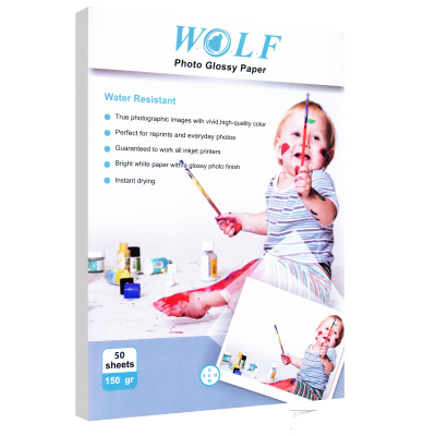 Wolf A3 Photo Glossy Paper 150gr 50sh