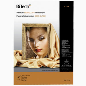 premium satin photo paper 20sheets / A3 / 260g
