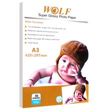 Wolf A4 Super Glossy Paper 180gr 50sh
