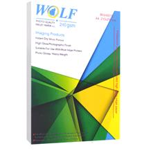 Wolf A4 Photo Glossy Double Paper 240g 50sh