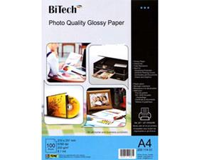 photo quality glossy coated paper 100sheets/ A4/200g